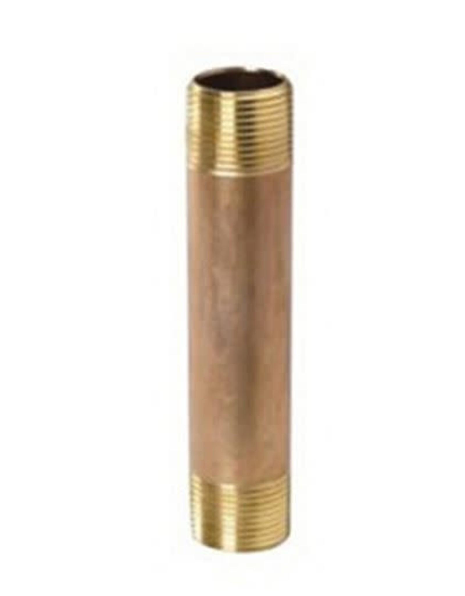"""3/4"""" X 1-1/2"""" Brass Nipple"""