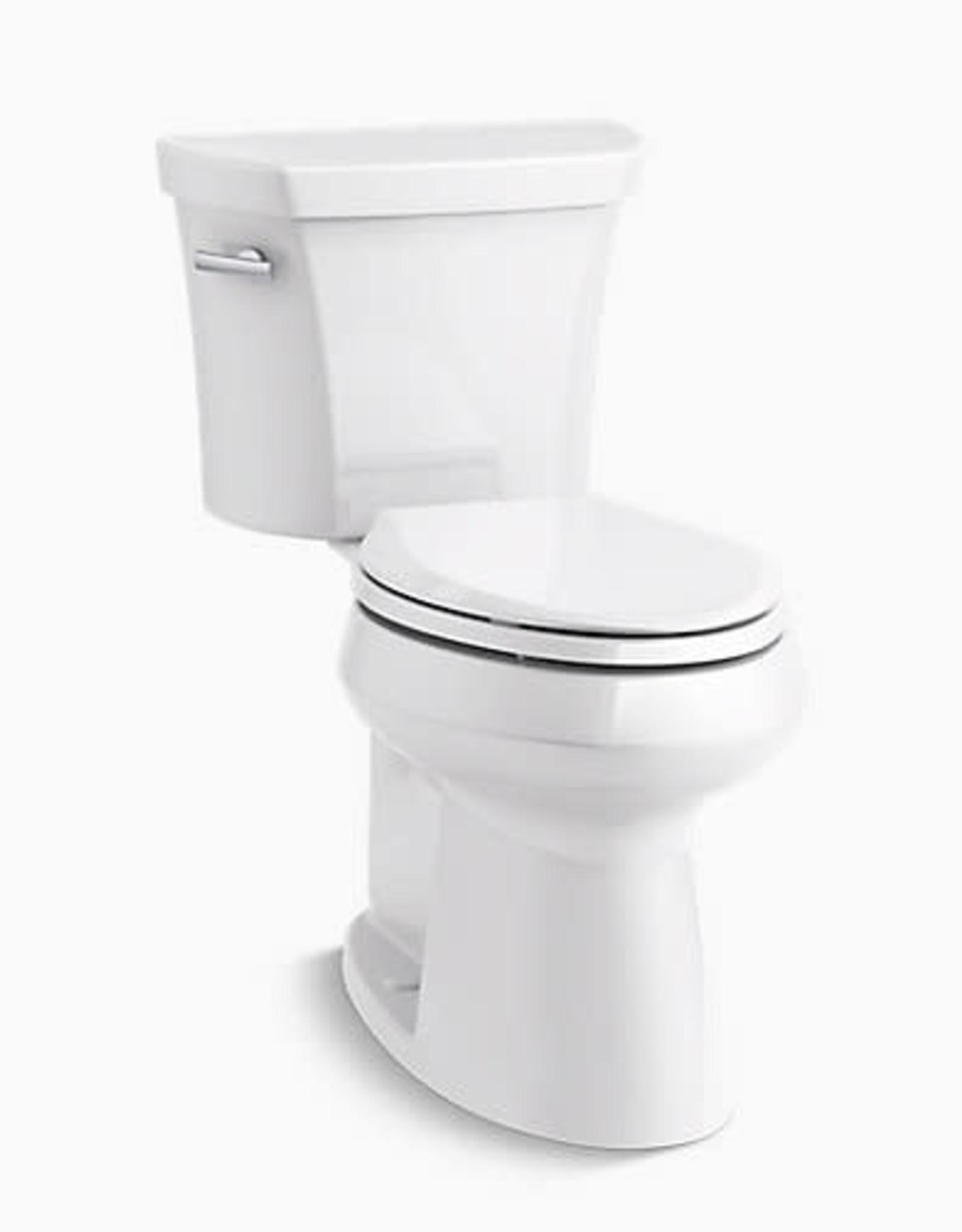 Kohler Kohler Highline Concealed Trap White High Elongated Toilet