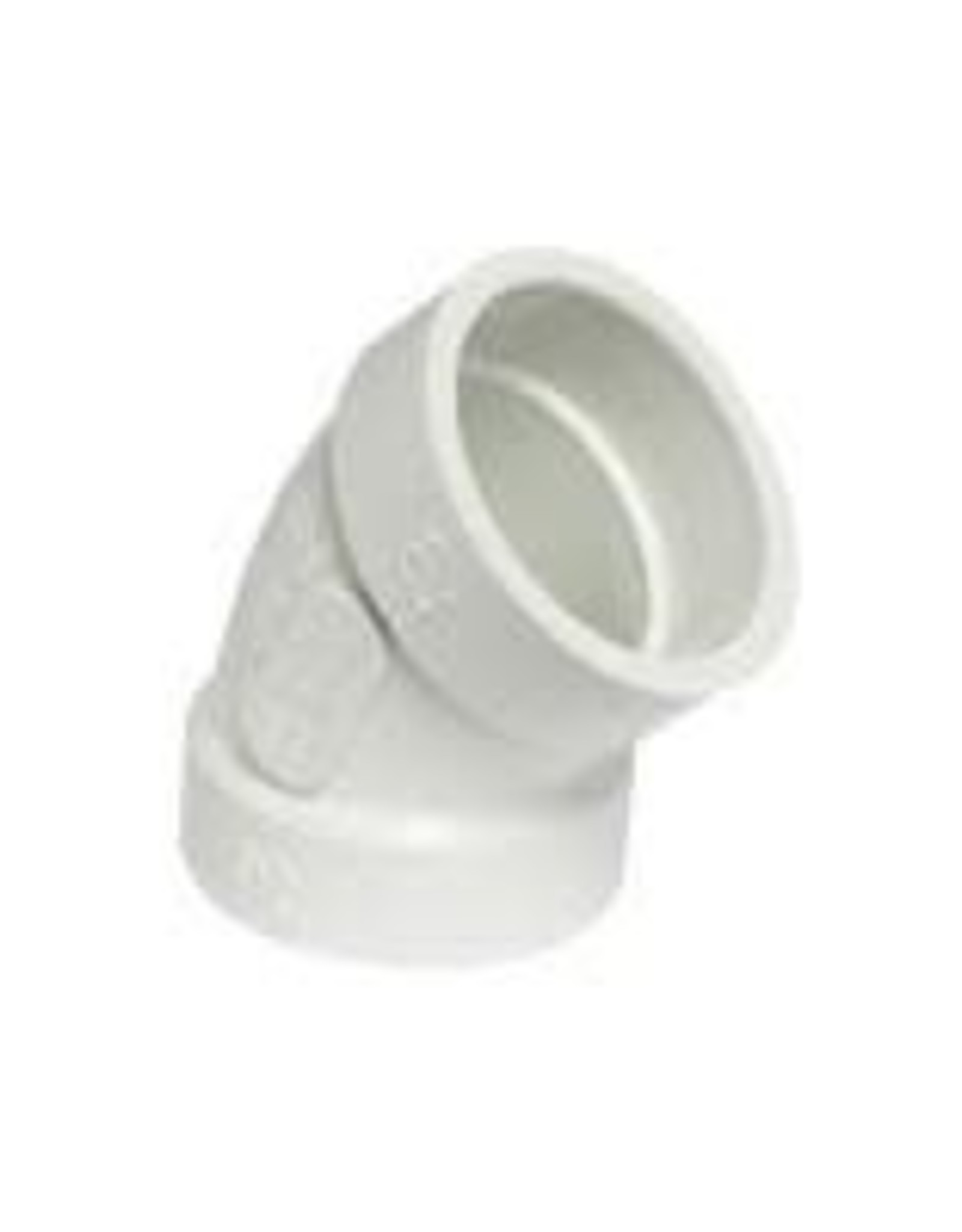 "3"" PVC SEWER 45 ELBOW S x S BDS"