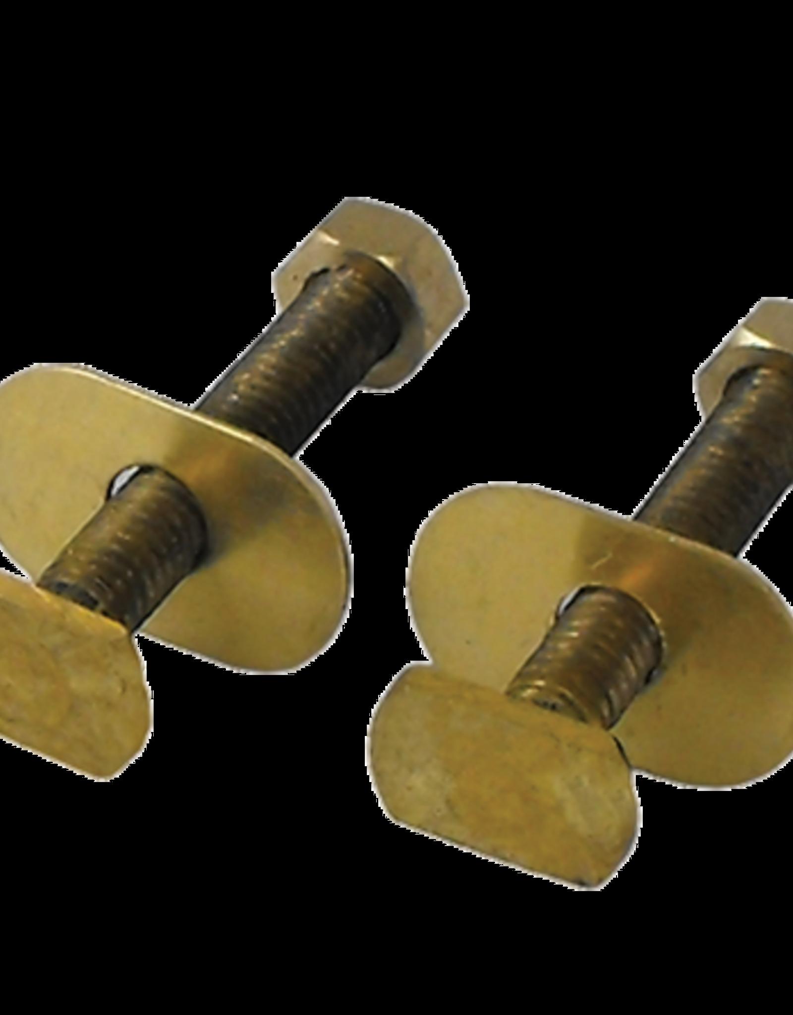 """Brass Closet Bolts- 5/16"""" x 3-1/2"""""""