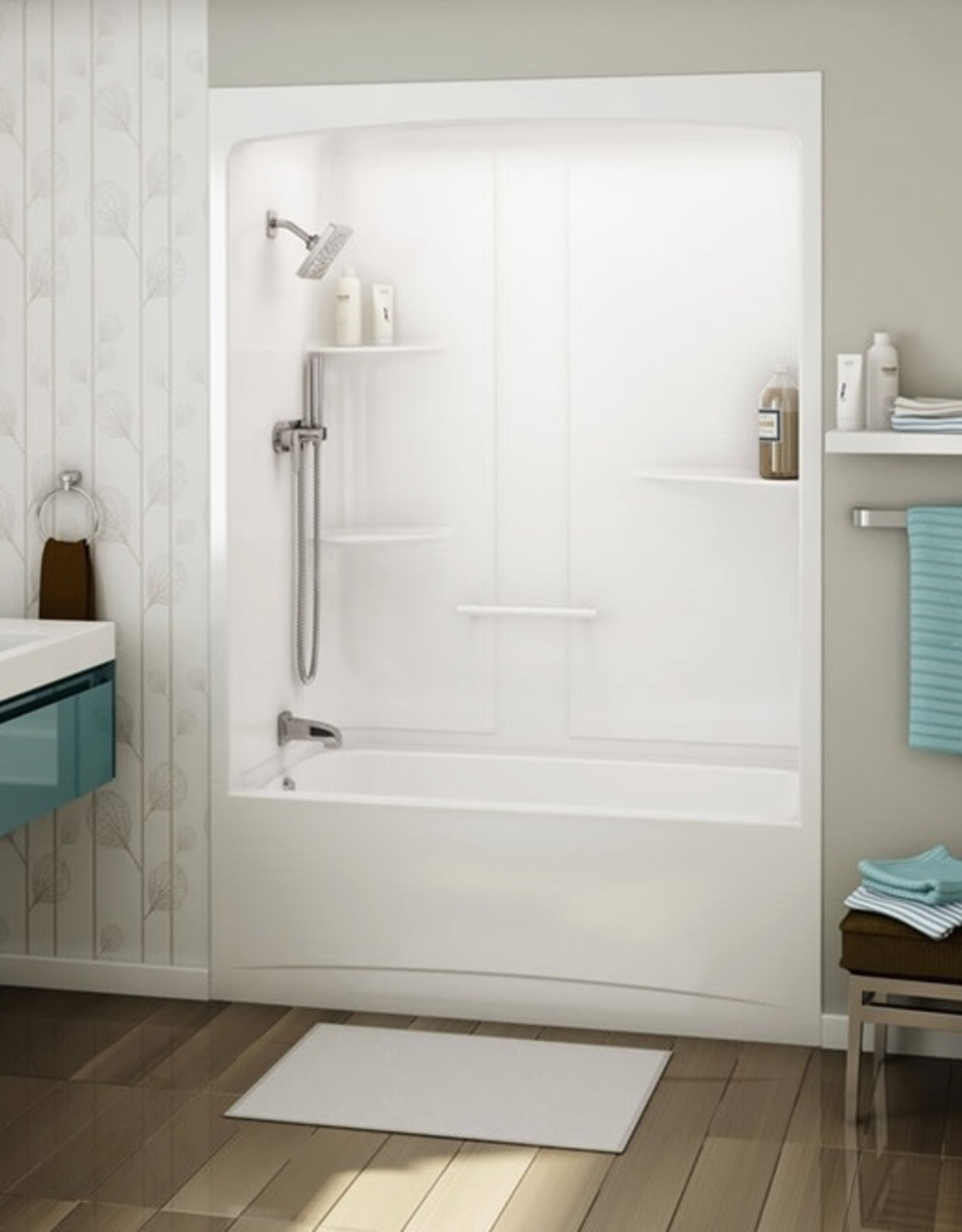 Maax Allia 1-Piece Tub/Shower 60x32 RD