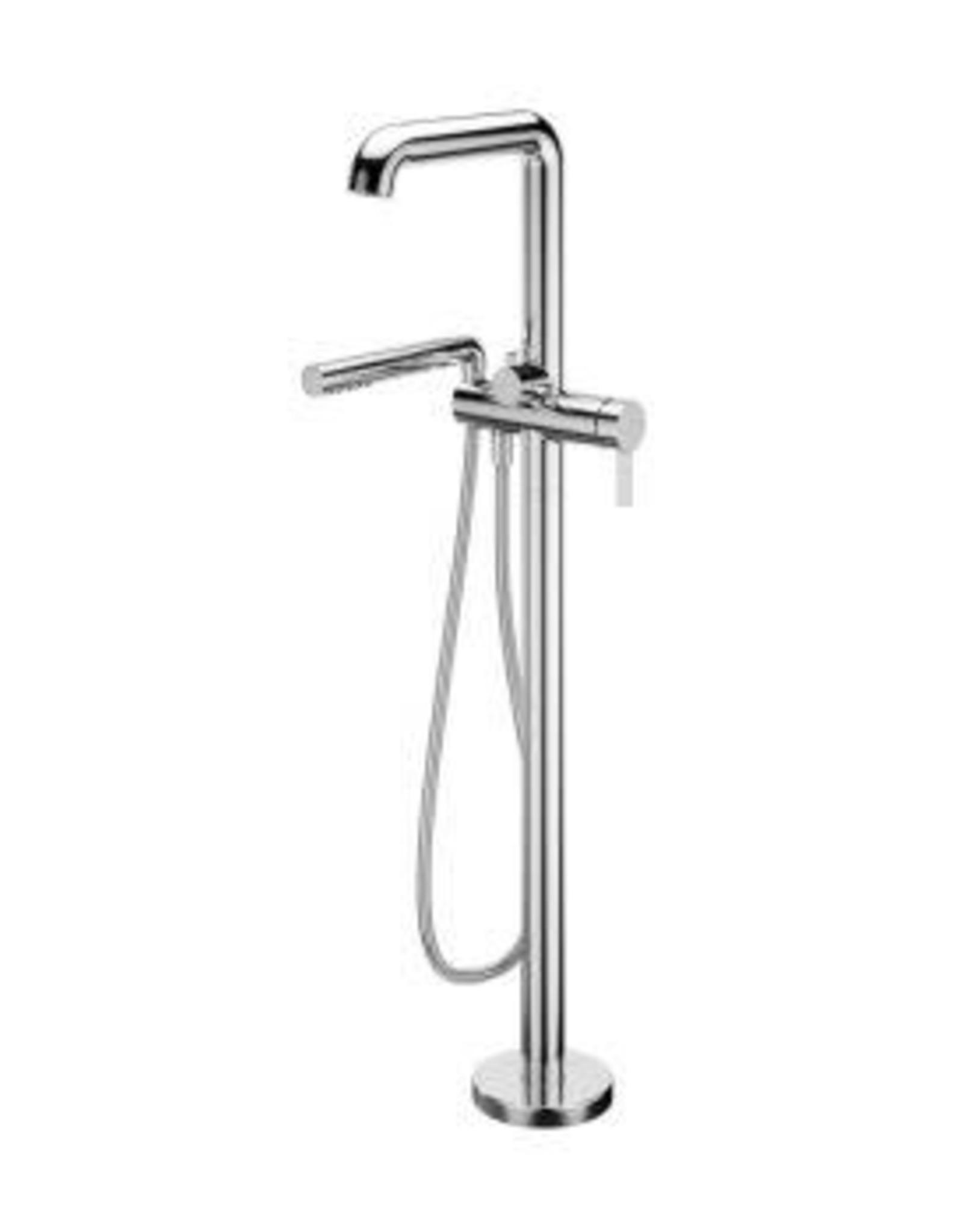 Kalia Kalia Basico Freestanding Tub Filler w/ R.I.- Chrome