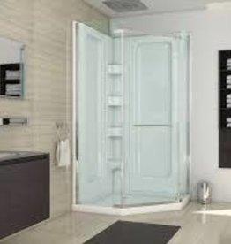 "Mirolin Mirolin Sorrento Multi-Piece Neo Angle Corner Shower w Door 38"""
