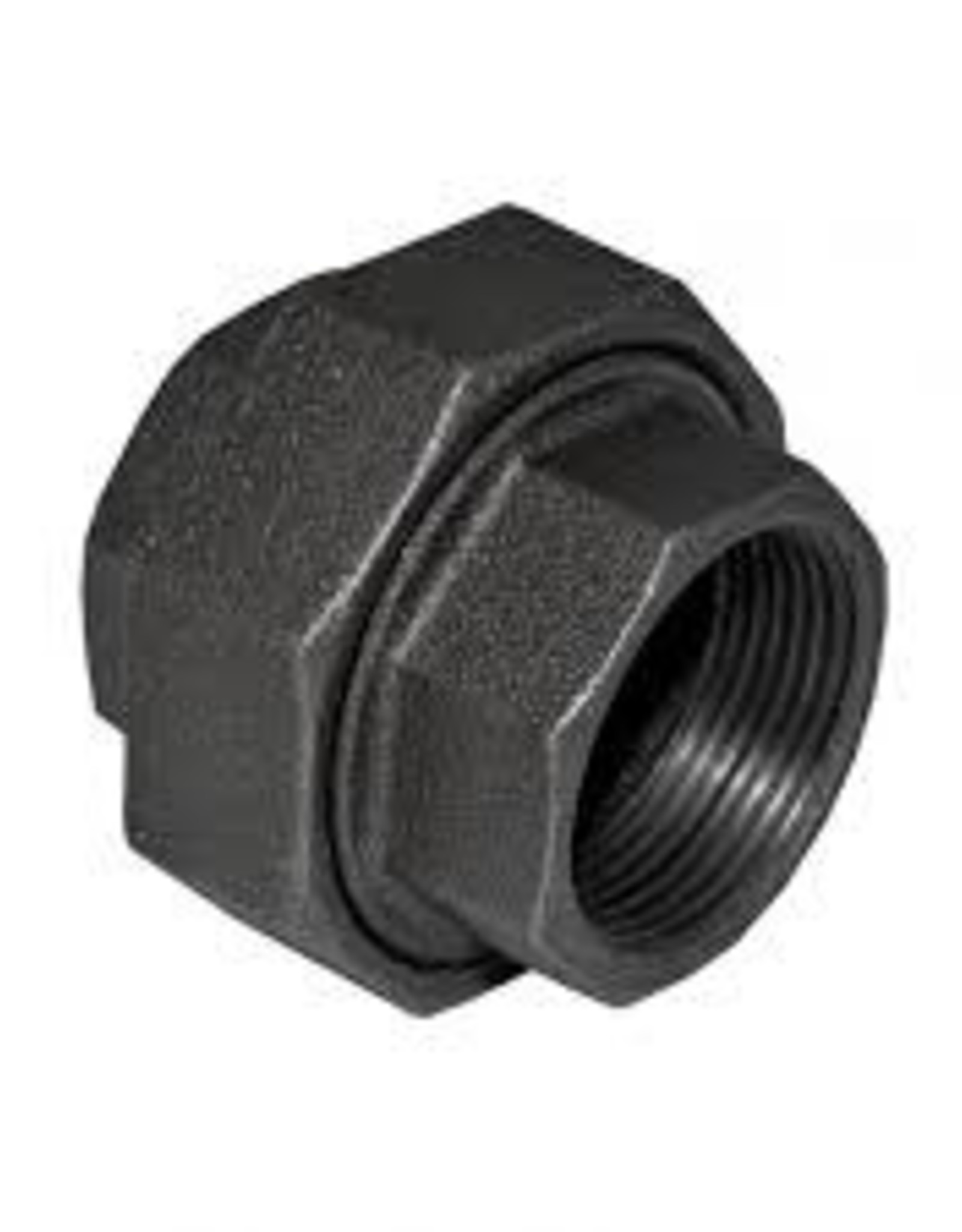 "1/2"" Black Iron Union"