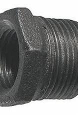 """3/4"""" x 1/2"""" Black Iron Bushing"""