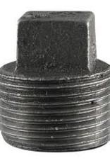 "1"" Black Iron Plug"