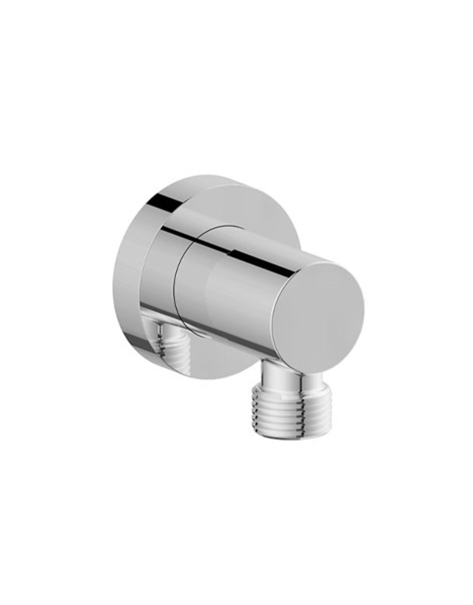 Vogt Round Drop Elbow- Chrome