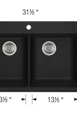 Blanco Blanco Horizon 210 Granite Drop-In Kitchen Sink