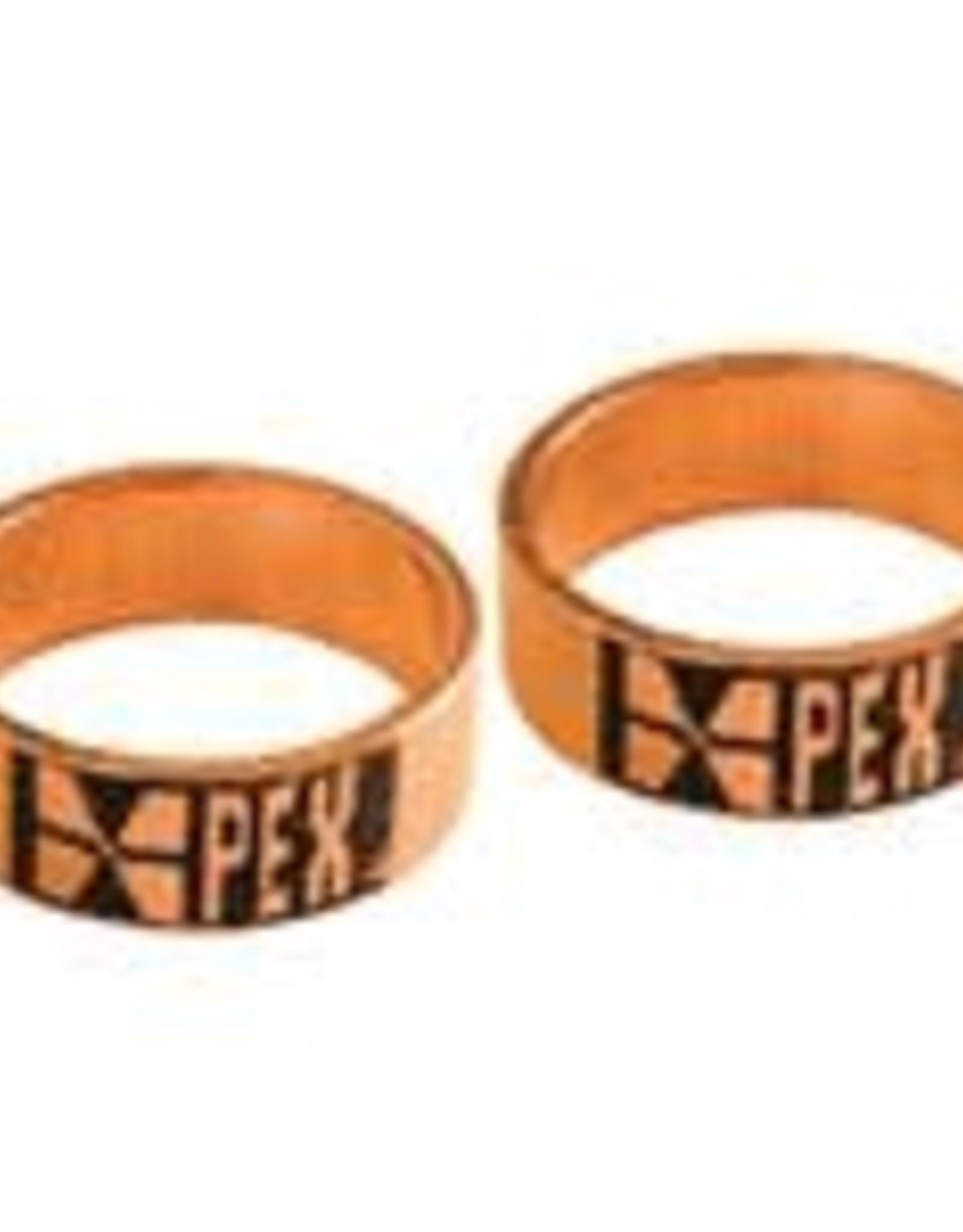 """1/2"""" Pex Crimp Ring- Copper 10-Pack"""
