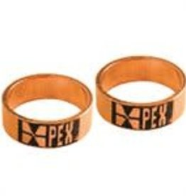 "1/2"" Pex Crimp Ring- Copper 10-Pack"