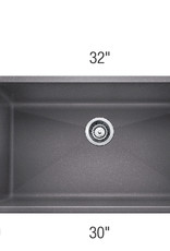 Blanco Blanco Precis U Super Single Granite Undermount Kitchen Sink