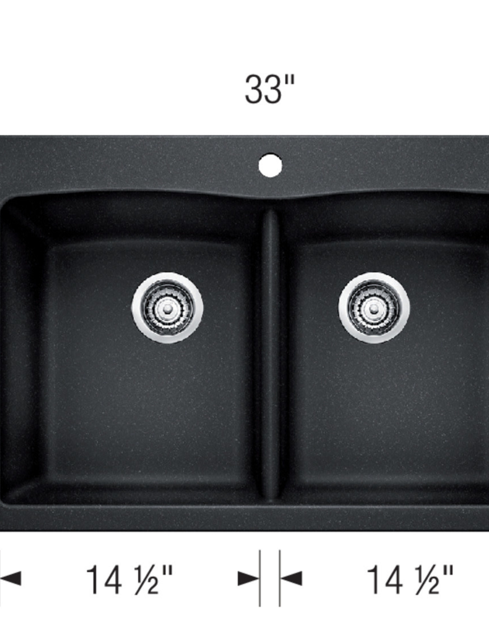 Blanco Blanco Diamond 210 Granite Drop-In Sink