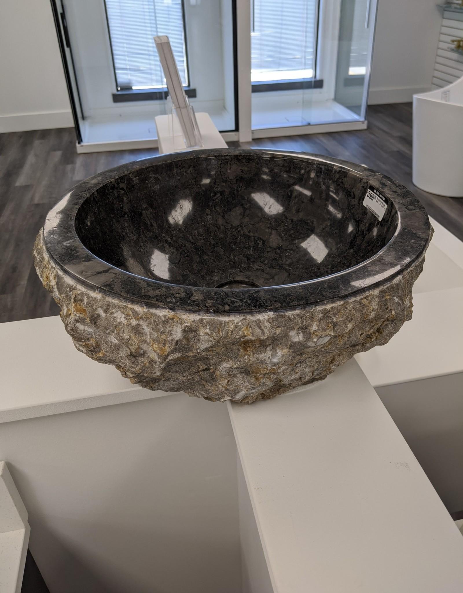 "Buckstone Marble Sink- 17"" x x17"" x 6"""