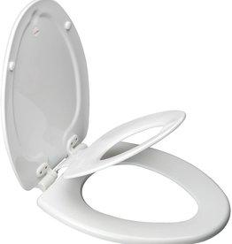 Bemis Bemis Next Step Toilet Seat Elong White