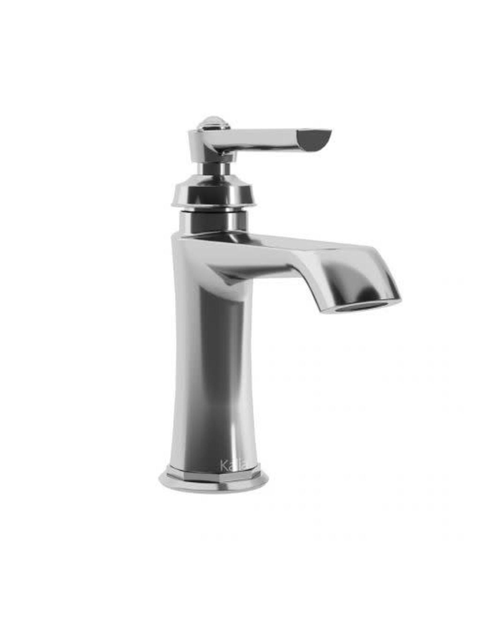 Kalia Kalia Rustik Single Hole Lav Faucet- Chrome