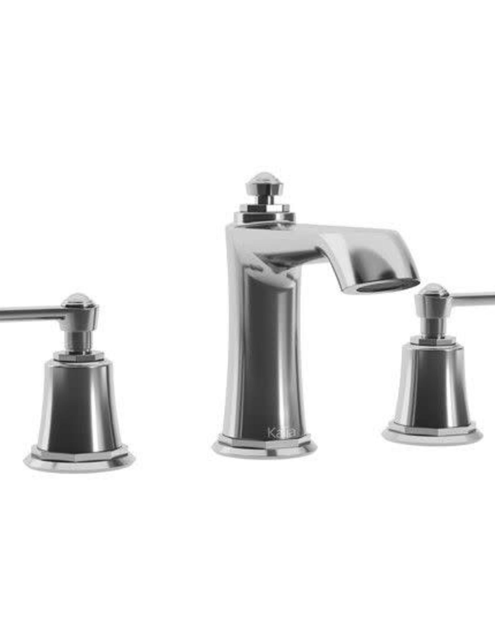 Kalia Kalia Rustik Widespread Lav Faucet- Chrome