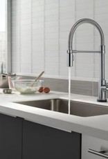 Delta Trinsic Pro Kitchen Faucet w/ Touch Technology- Arctic Stainless