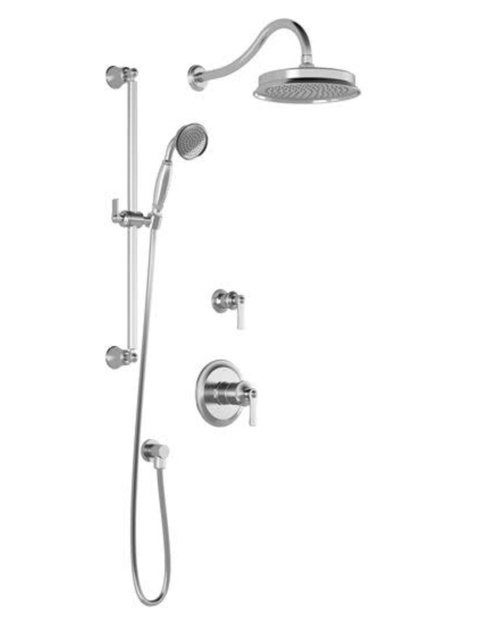Kalia Kalia Rustik TD2 Shower Kit- Chrome