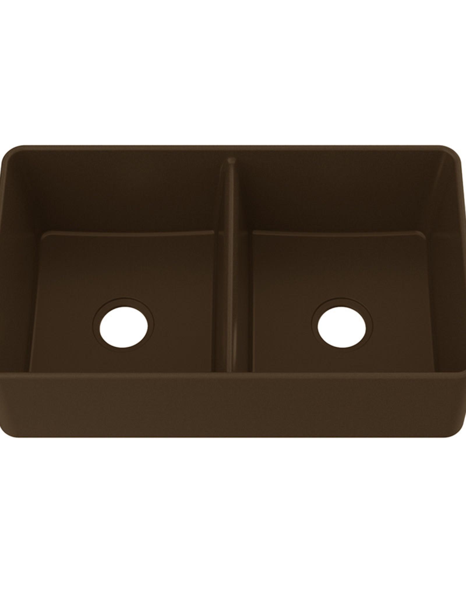 """Vogt Vogt Kaltenbach GS Vogranite Apron Front Kitchen Sink Double Bowl (50/50) 33"""" x 19"""" x 9"""""""