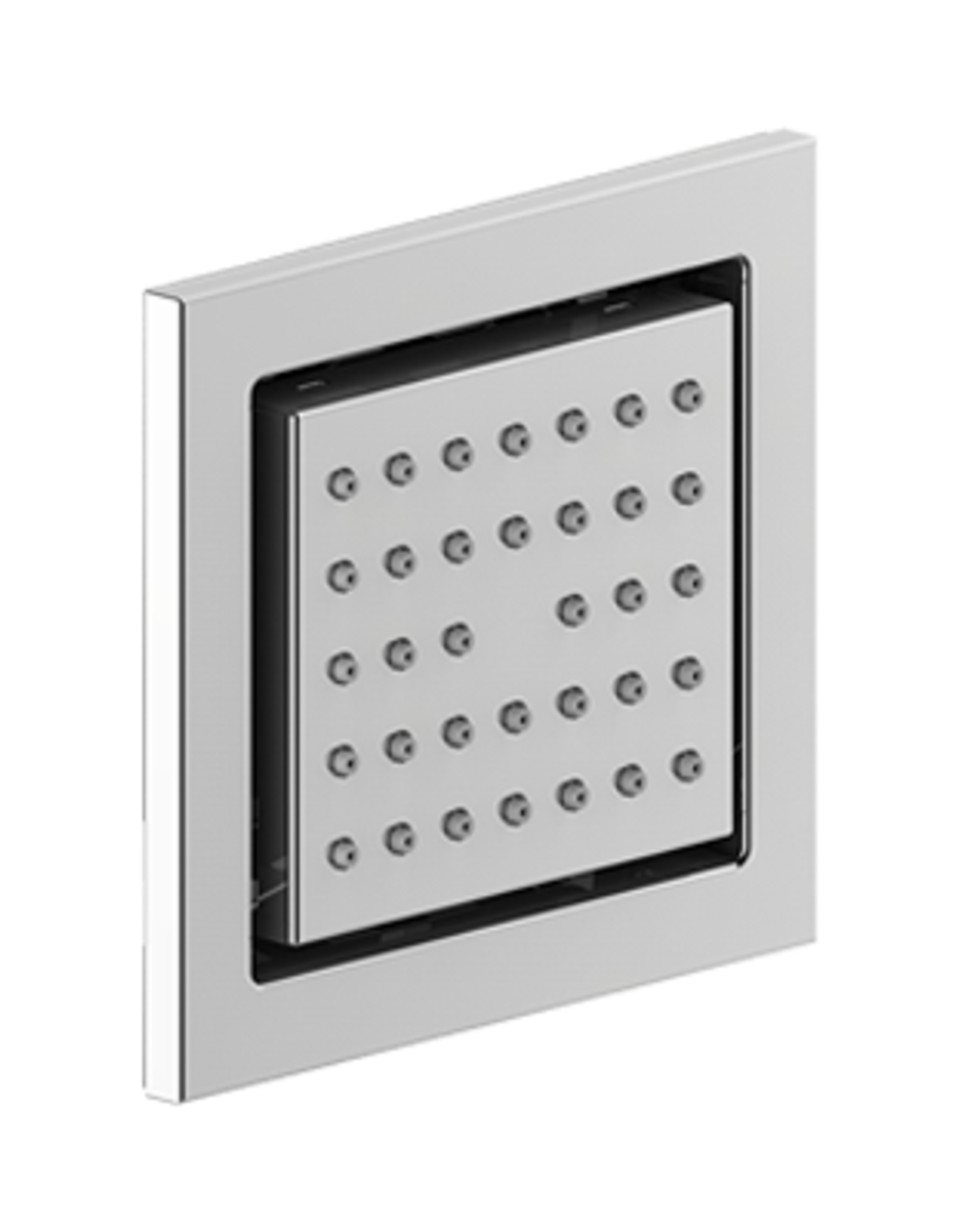 Vogt In-Wall Body Jet Square- Chrome