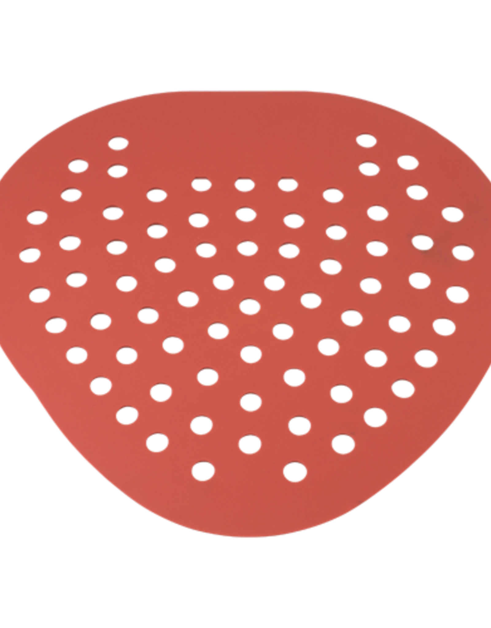 Urinal Screen- Red Cherry