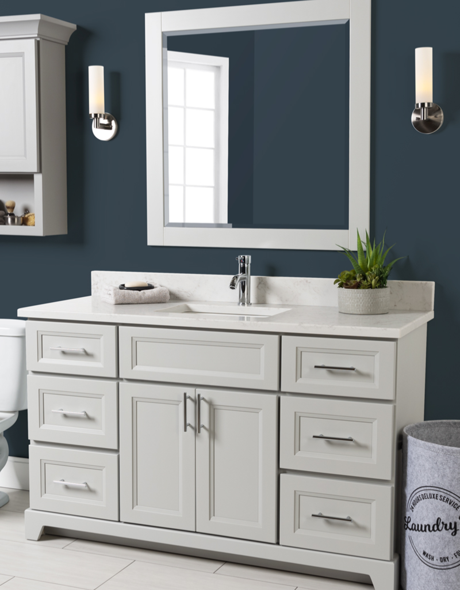 "Stonewood Classic 54"" Vanity, Top and Sink"