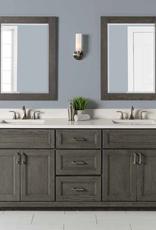"Stonewood Premium 60"" Double Bowl Vanity, Top and Sink"