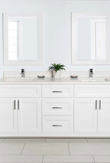 "Stonewood Classic 60"" Double Bowl Vanity, Top and Sink"