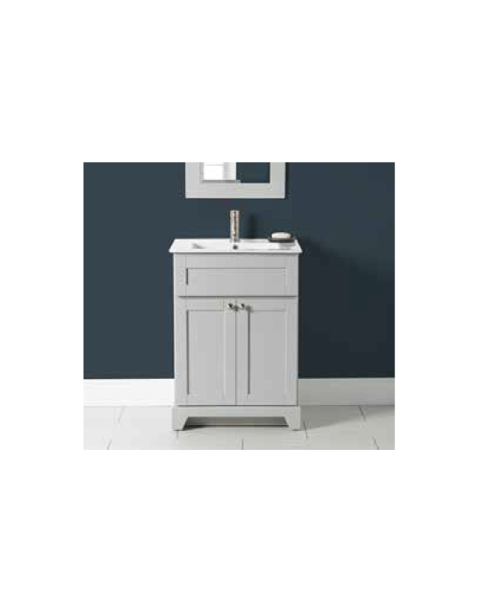 "Stonewood Premium 24"" Vanity and Porcelain Sink"