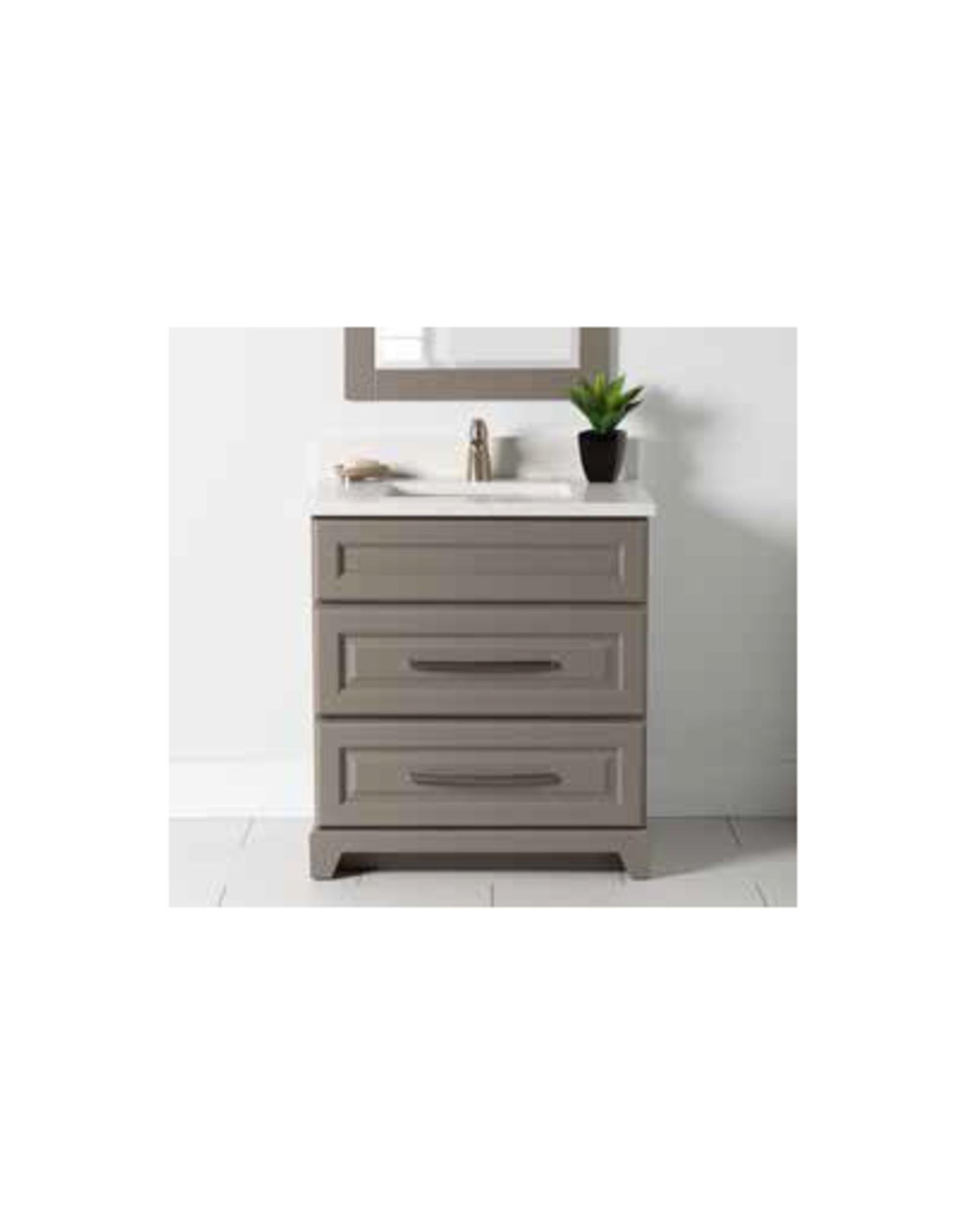 "Stonewood Premium 30"" Dresser Style Vanity, Top and Sink"