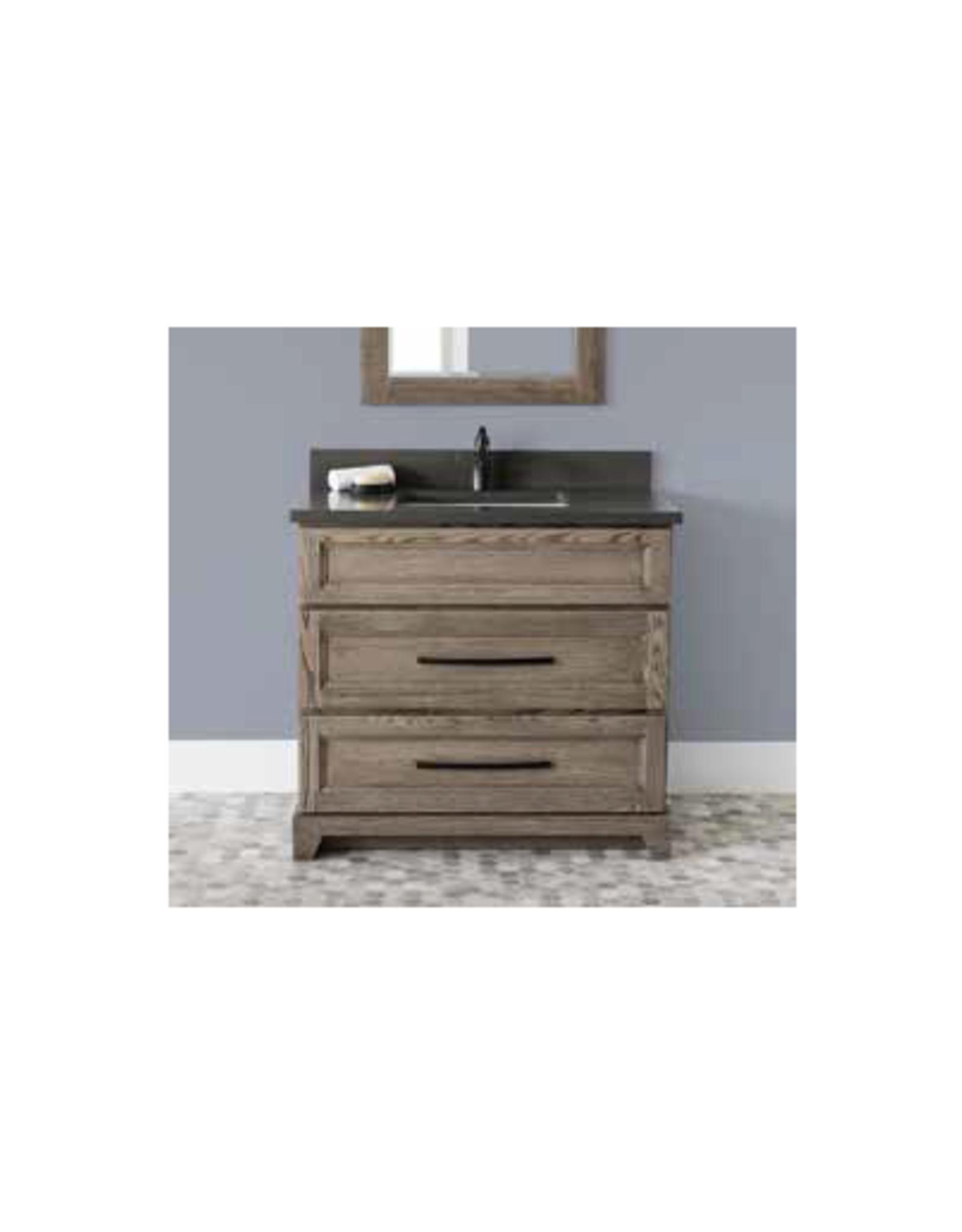 "Stonewood Premium 36"" Dresser Style Vanity, Top and Sink"