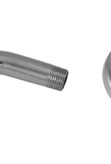 """6"""" Shower Arm and Flange- Chrome"""