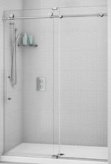 """Fleurco K2 In-Line 72"""" Sliding Door with Fixed Panel"""