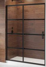 """Fleurco Fleurco Latitude In-Line 54"""" Sliding Door with Fixed Panel"""