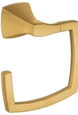Moen Voss Towel Ring Brushed Gold