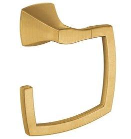 Moen Voss Towel Ring Brushed Gold