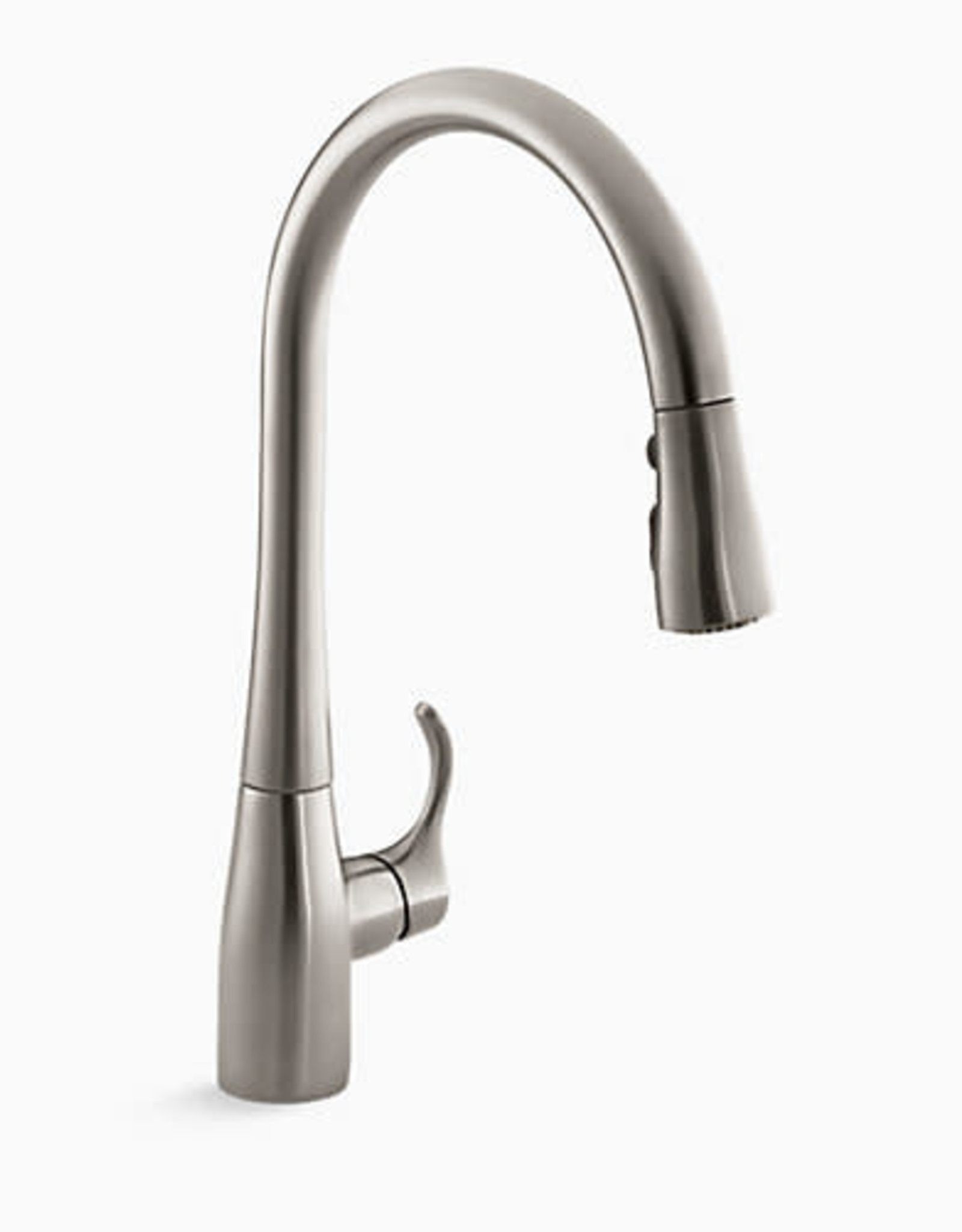 Kohler Kohler Simplice 3-Function Pullout Kitchen Faucet- Stainless