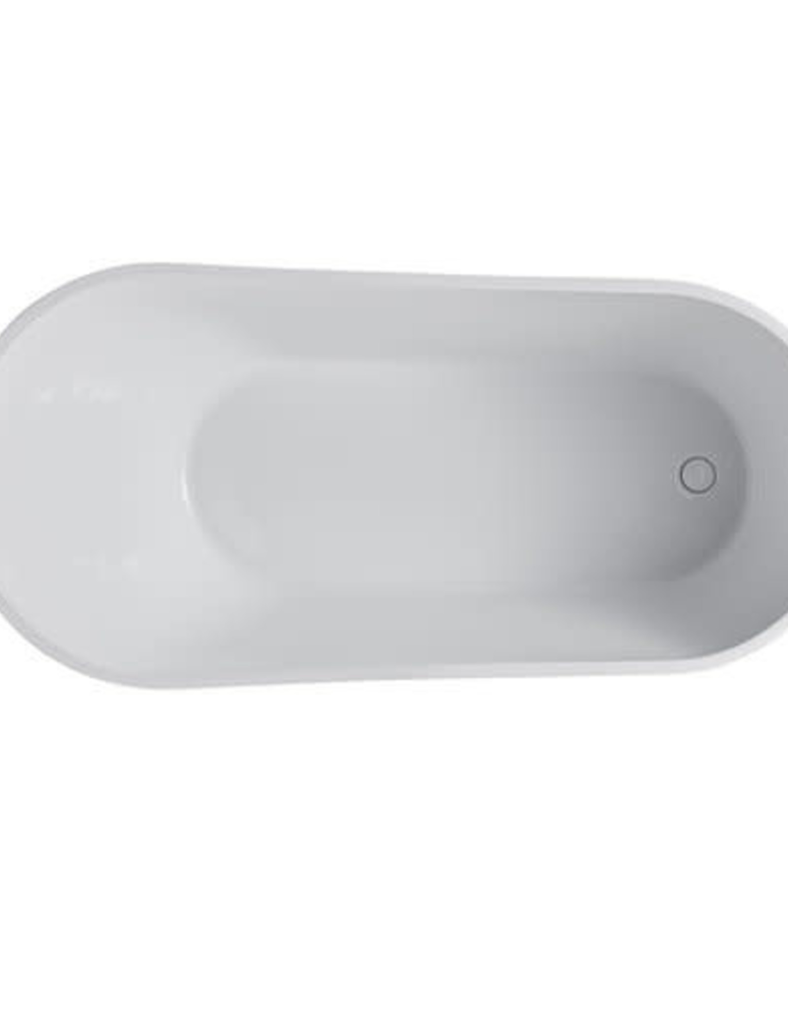 "Bagno Italia Bagno Italia Alps 59"" Freestanding Tub- White"