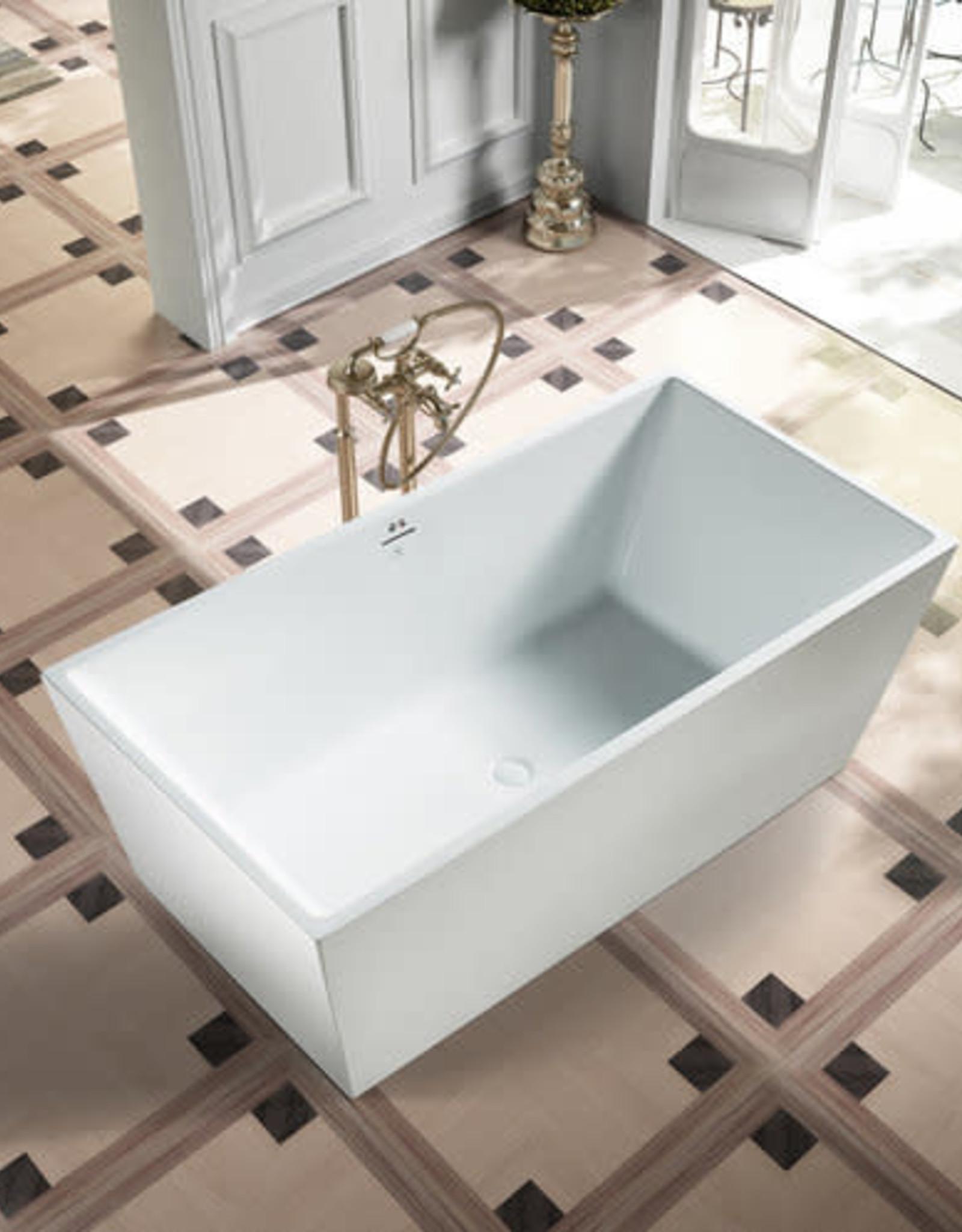 "Bagno Italia Bagno Italia Amazon 63"" Freestanding Tub"
