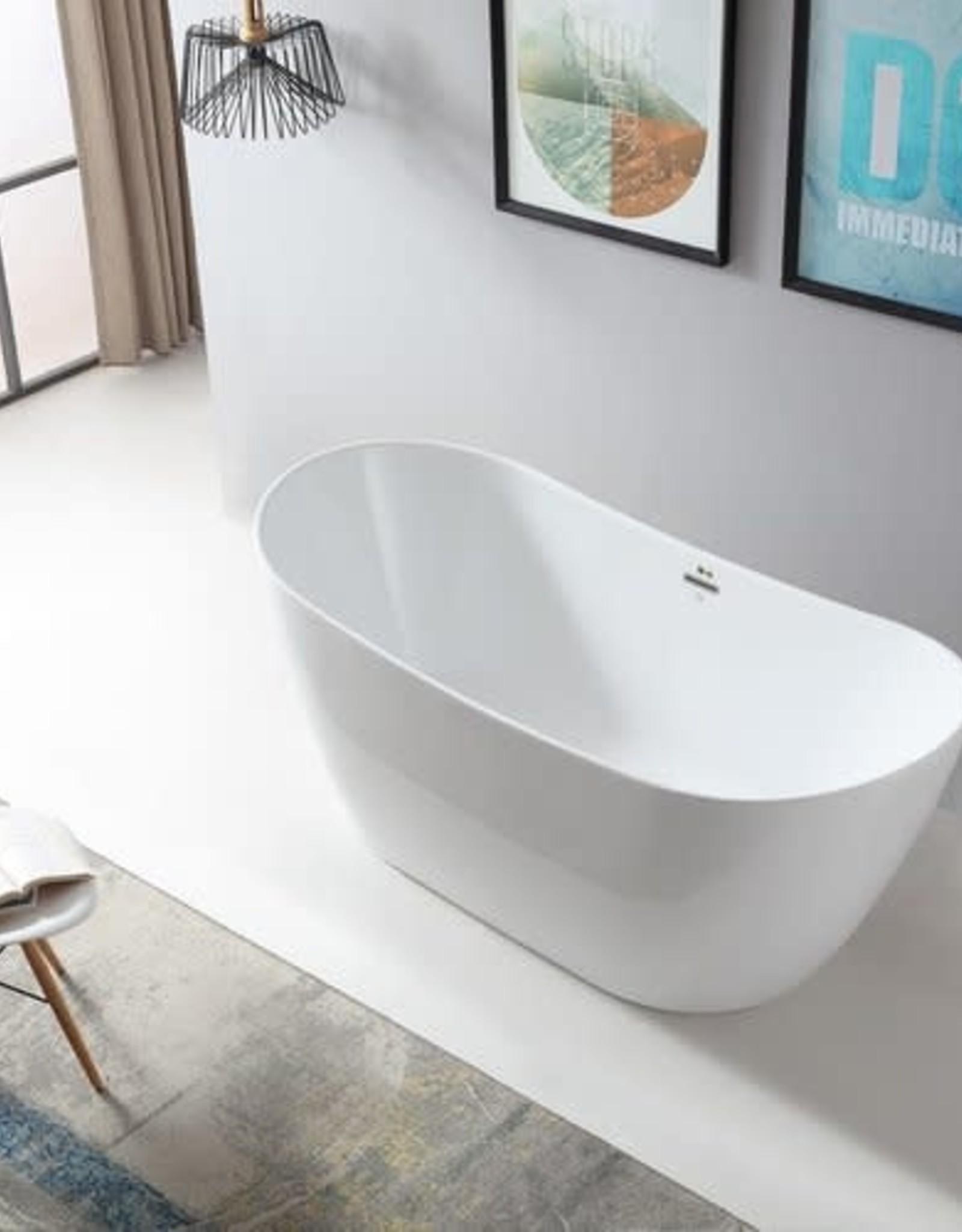 "Bagno Italia Bagno Italia Bellagio 66"" Freestanding Tub"