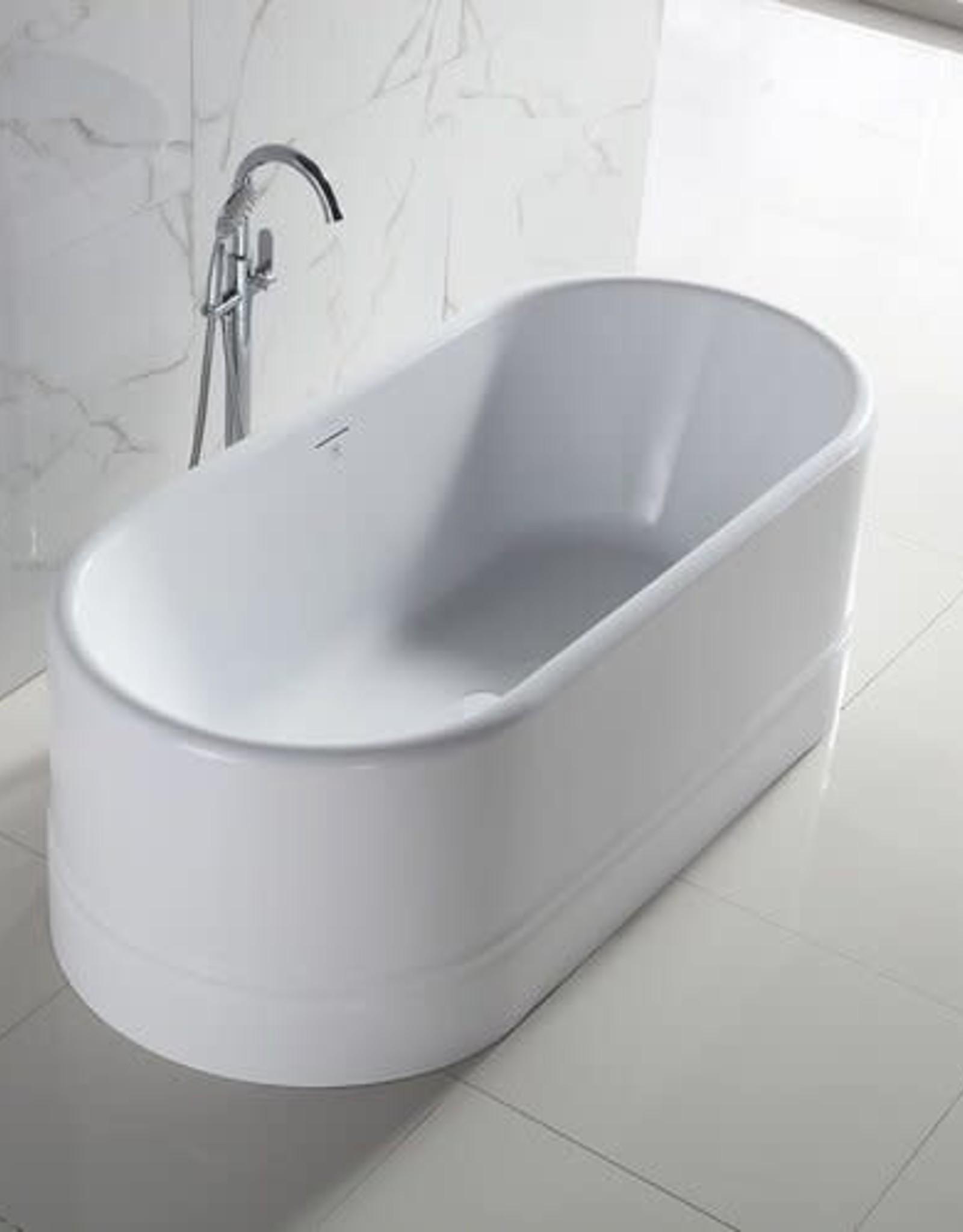 "Bagno Italia Bagno Italia Diamond 67"" Freestanding Tub"