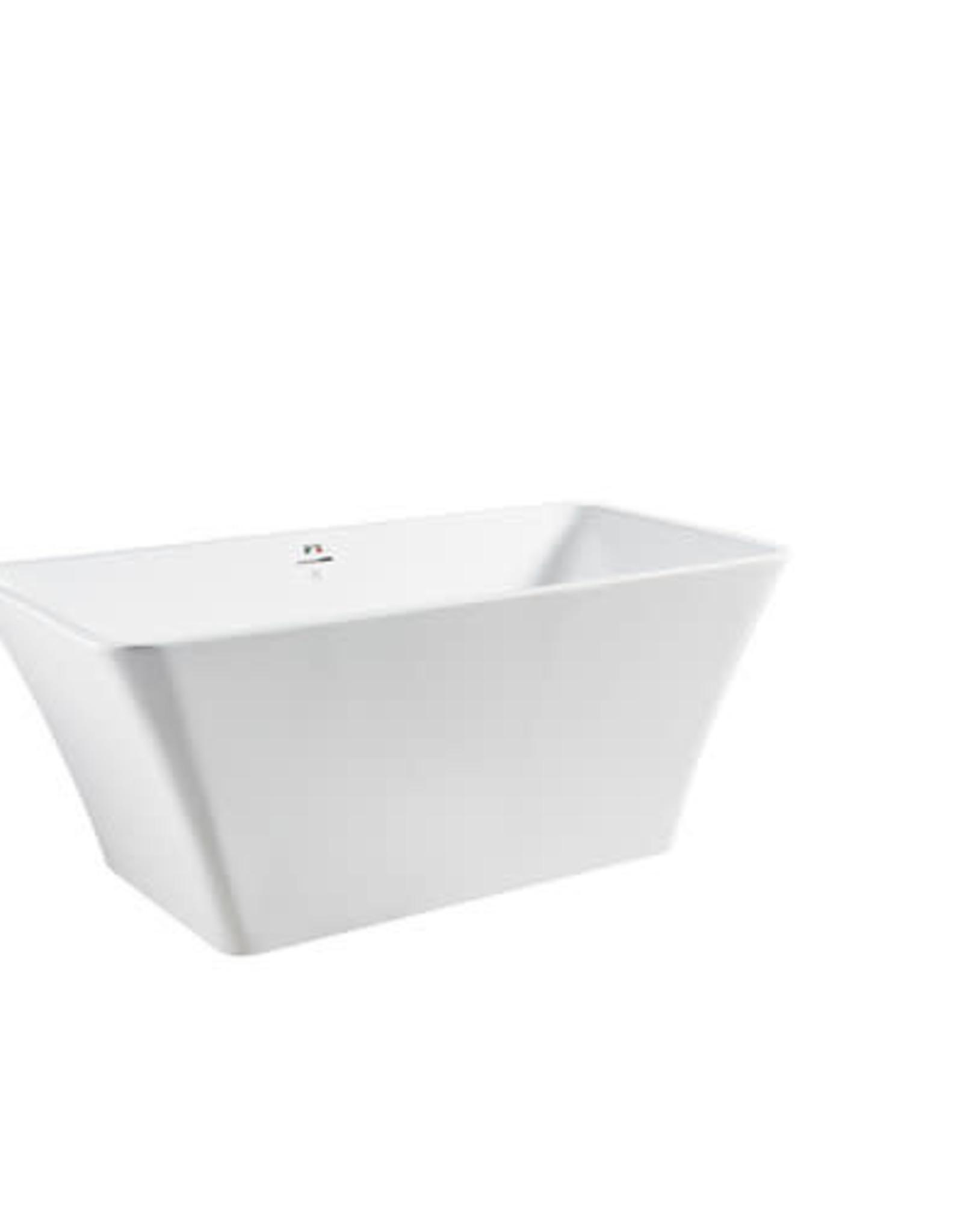 """Bagno Italia Bagno Italia Dove 59"""" Freestanding Tub"""
