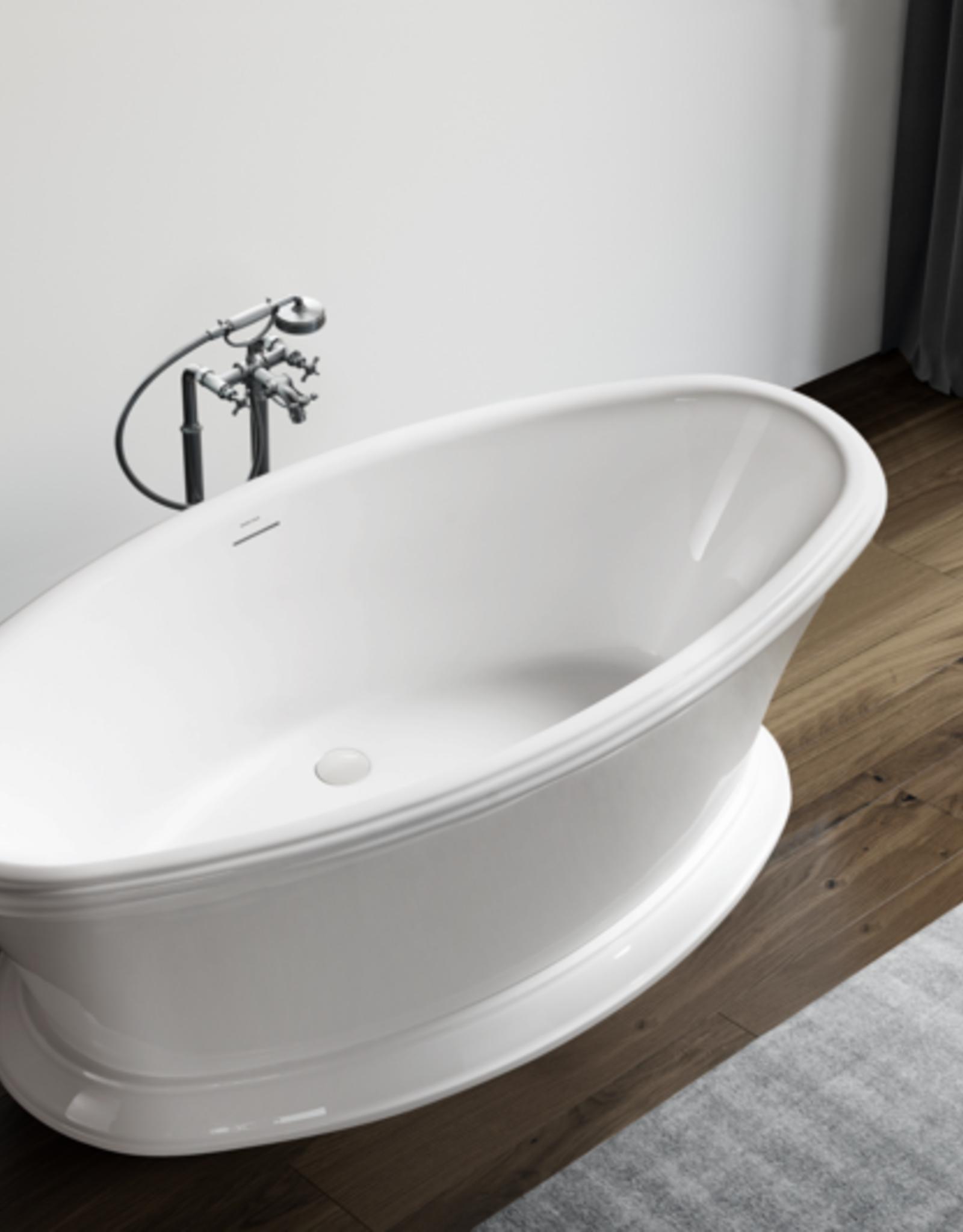 "Bagno Italia Bagno Italia Hamptons 67"" Freestanding Tub"