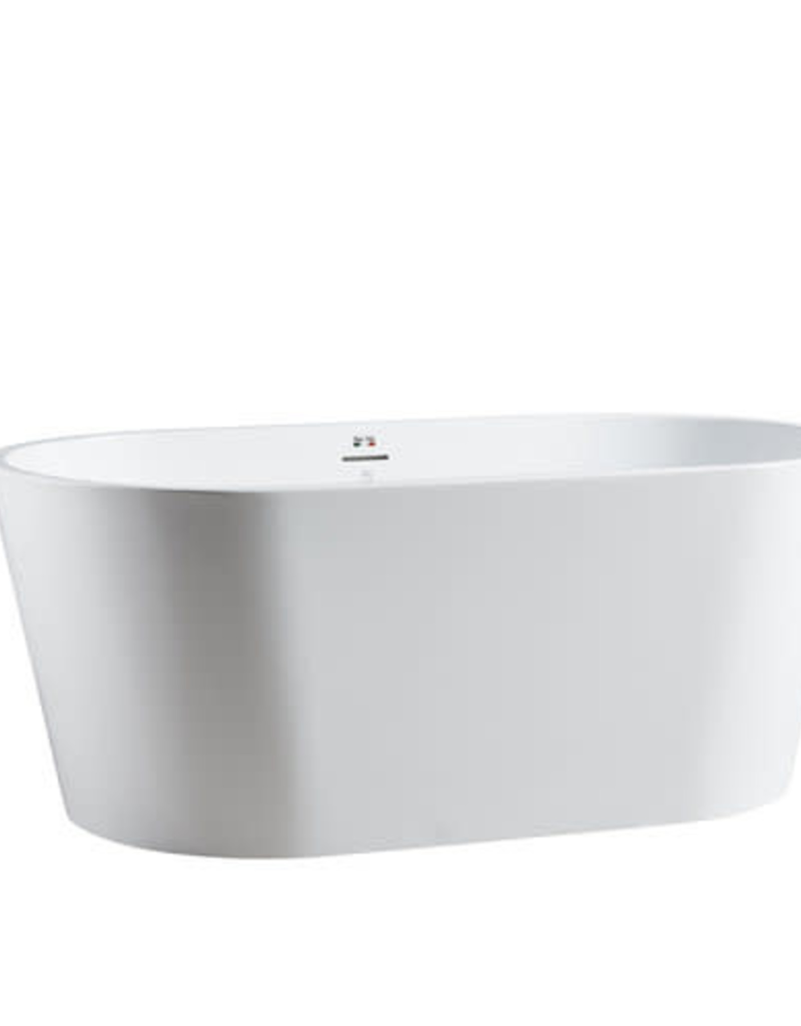 "Bagno Italia Bagno Italia Monaco 59"" Freestanding Tub"
