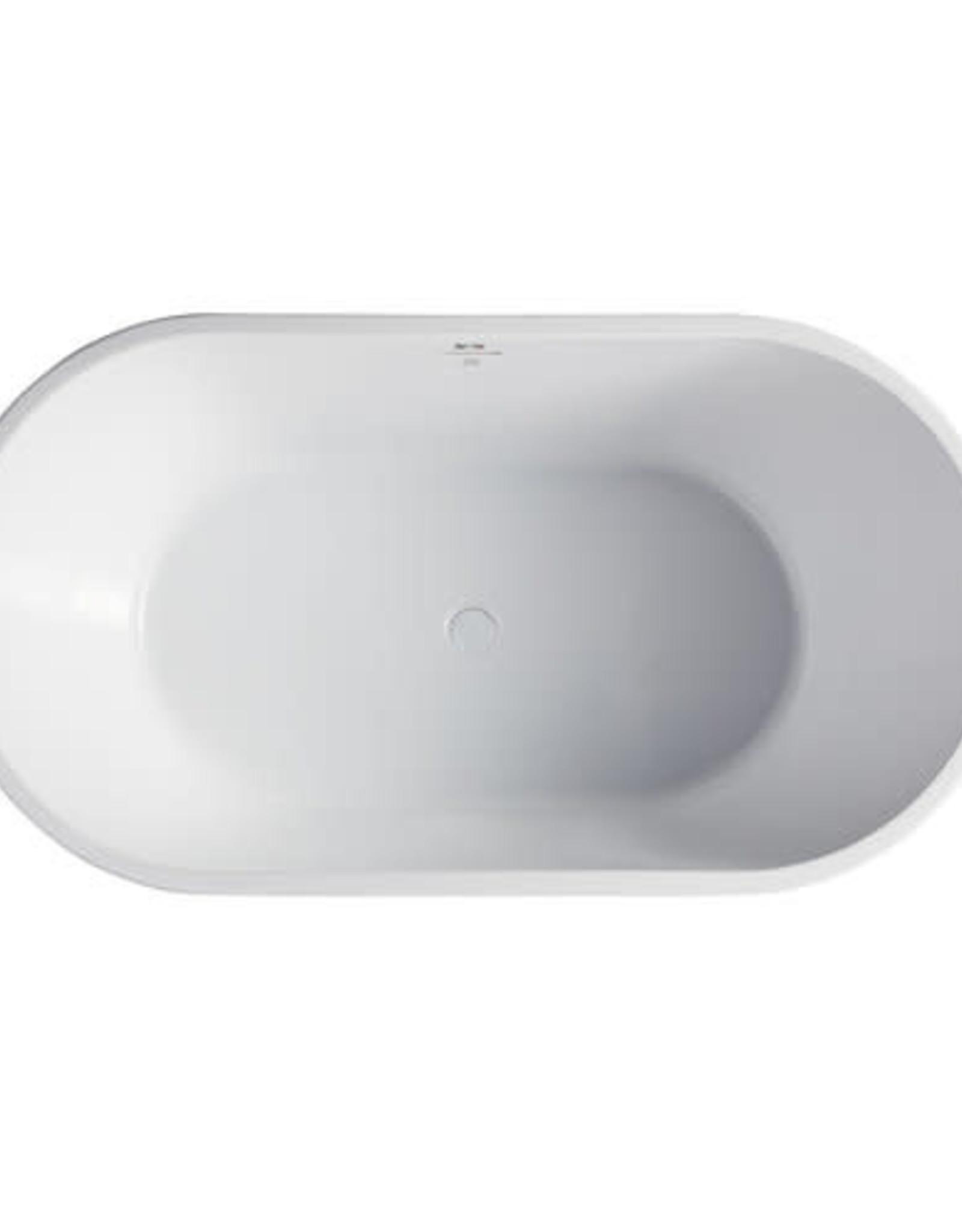 "Bagno Italia Bagno Italia Monaco 67"" Freestanding Tub"