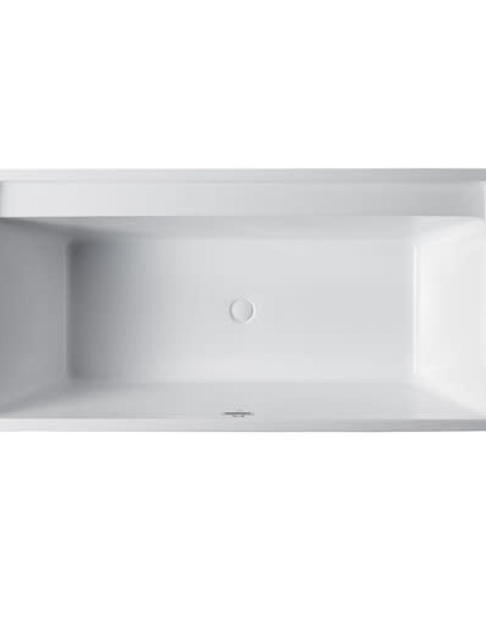 "Bagno Italia Bagno Italia Zen 67"" Freestanding Tub"
