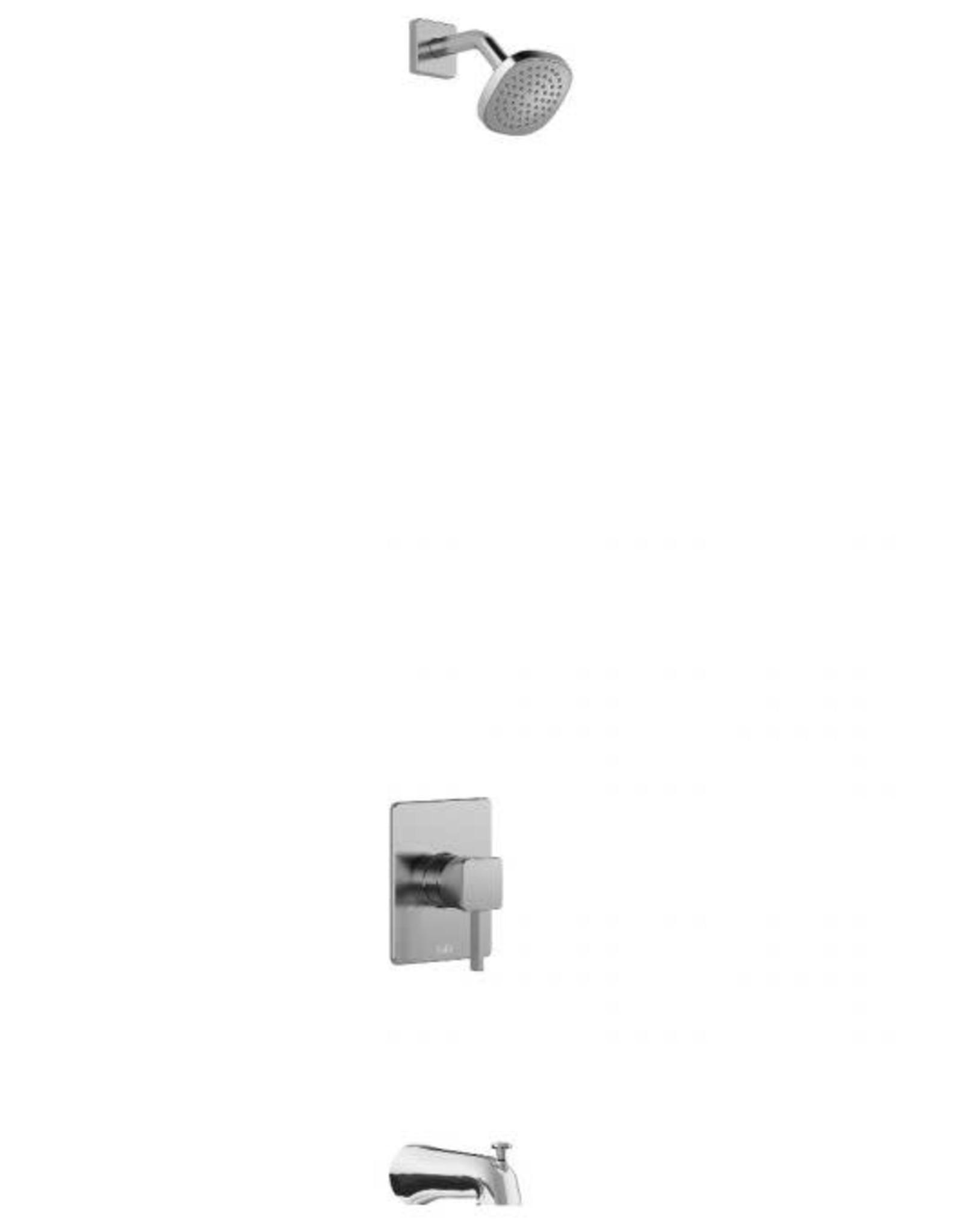Kalia Kalia Sobrio PB3- Tub Spout w/ Showerhead- Chrome