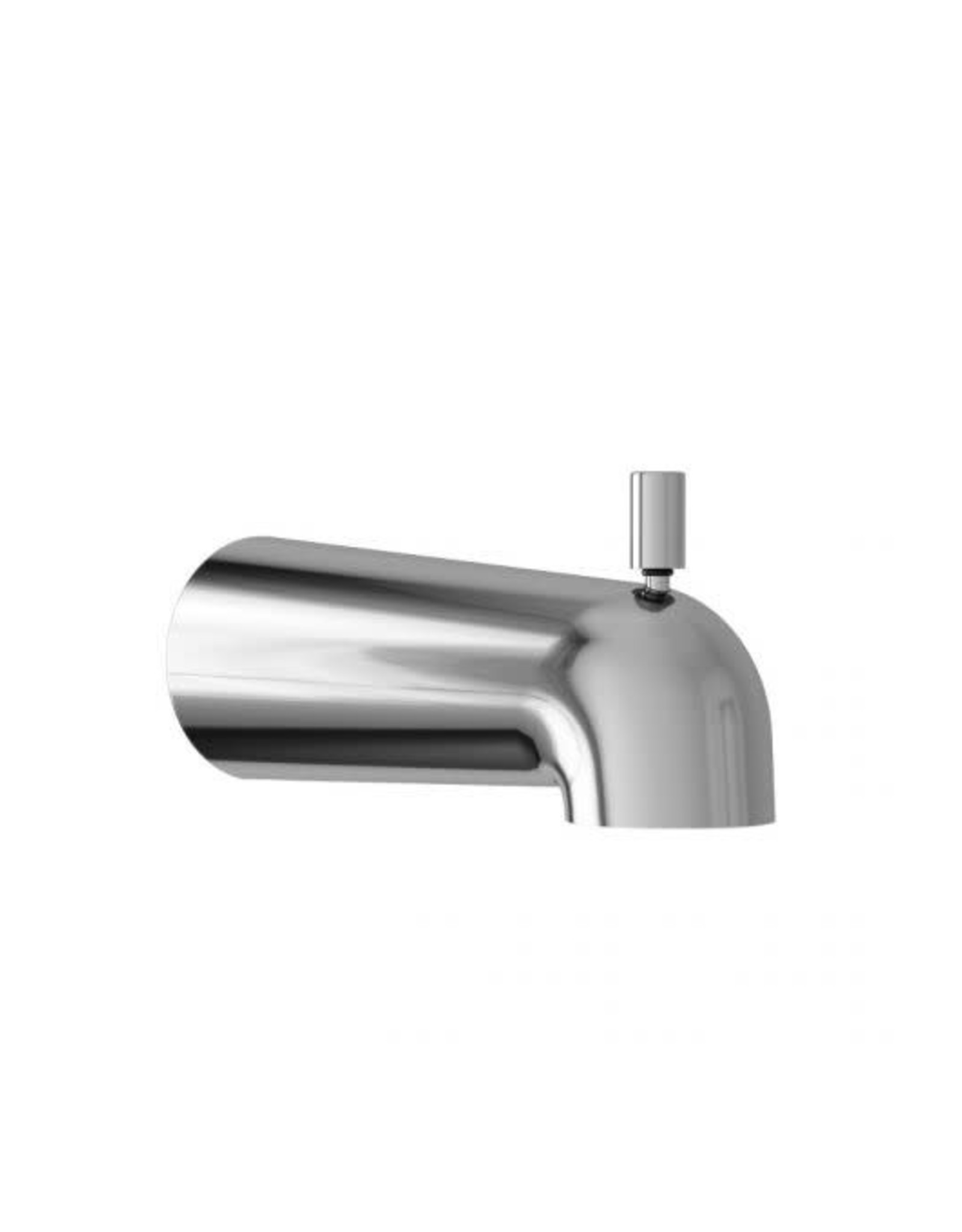 Kalia Kalia Basico Round Tub Spout w/ Diverter- Chrome