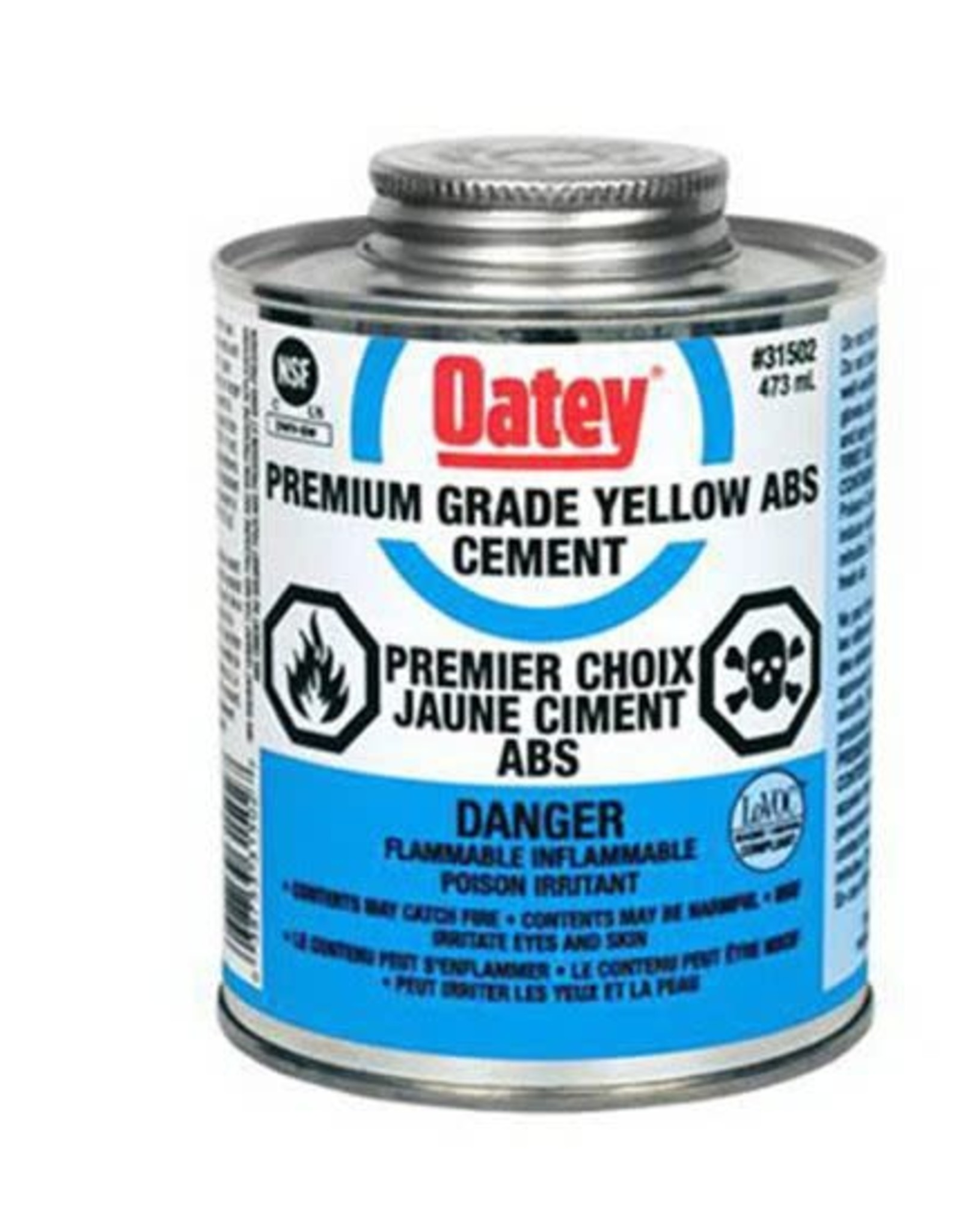 Abs Cement 237ml Yellow With Brush
