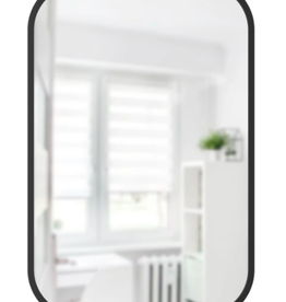 Umbra Umbra Hub Rectangle Mirror Black